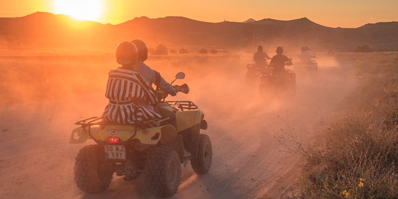 Kapadokya Gün Batımı Atv Turları
