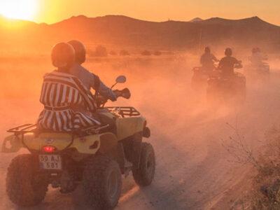 kapadokya gün batımı atv turu